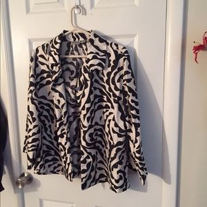 Light zebra jacket